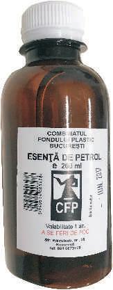 Esenta de Petrol 200ml. Poza 924