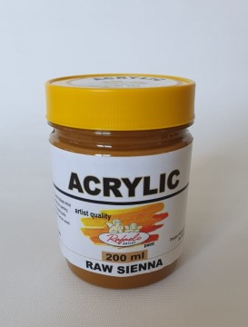 poza Culori acrilice Rafaelo Artist- borcan plastic 200 ml
